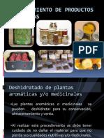 Deshidratado de Plantas Medicinales