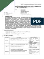 DISEÑO CURRICULAR DIVERSIFICADO DEL ÁREA DE EDUCACIÓN FÍSICA