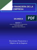 Esan - Skanska - Finanzas Para No Especialistas - Ses. 1