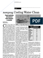 Keeping Cooling Water Clean