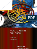 Humerus and Elbow Fracture in Children