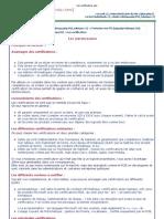 Les Certifications-Ada