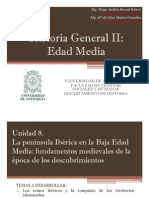 Unidad 8 La Península Ibérica en la Baja Edad Media