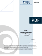 Competencias Docentes Preal 2011