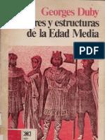 Hombres y Estructuras de La Edad Media G Duby