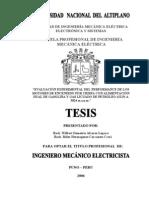 Evaluación Experimental del Performance de los Motores de Encendido por Chispa con Alimentación Dual de Gasolina y Gas Licuado de Petróleo (GLP) A 3824 m.s.n.m.
