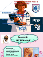 Inyeccion Intramuscular