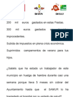 documento situación economica Ayuntamiento