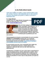 A importância da auto-observação - Dr Sérgio Mortari - terapias holísticas - homeopatia