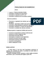 Benefíciois fisiológicos do exercício físico - treinamento - medicina preventiva - Dr Rondó