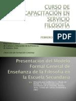 Modelo Formal General de enseñanza de la Filosofía Obiols (1)