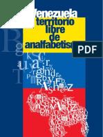 Libro Venezuela Territorio Libre de Analfabetismo Fidel Ernesto Vasquez