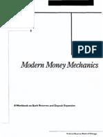 Modern Money Mechanics (2003, 40 Oldal)