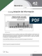 FICHA 11, INTERPRETACIÓN DE INFORMACIÓN