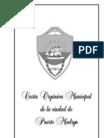 Carta Organica Puerto Madryn