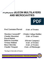 POROUS  SILICON MULTILAYERS AND MICROCAVITIES.pdf