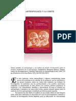 Articulo La Antropologia Y Su Gente.