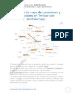 Descubre Tu Mapa de Conexiones y Menciones en Twitter Con Mentionmapp