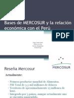 Presentación MERCOSUR