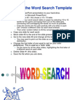 Word Search t Pl