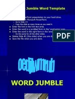 Word Jumble t Pl