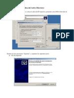 Instalar la réplica de un Active Directory