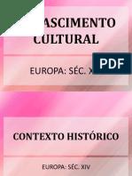 157167444 Lit 004 Renascimento Cultural