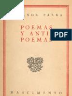 Parra, Nicanor - Poemas y Anti Poemas