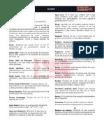GLOSARIO DE  OPERACIONES INDUSTRIALES