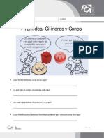FICHA 8, PIRÁMIDES, CILINDROS Y CONOS