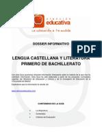 Lengua Castellana y Literatura 1 Bachillerato