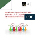 Estudio Inteco Aped 120209 Redes Sociales