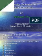 Paleozoic Era paleogarphy and Tectonics By thunder