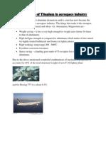 Application of Titanium in aerospace industry.docx