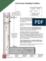 Flow Rate & Gaseous Sampling Facilities