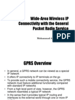 Wide-Area Wireless IP Connectivity With GPRS