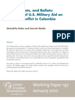 WP 197 - Effect of US Military Aid in Colombia