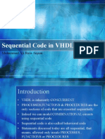Sequential Code in VHDL