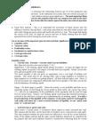 Handout on Ratios Analysis