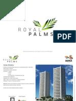 Caderno Tecnico Royal Palms