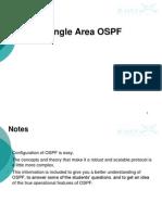 Single Area OSPF - Sep 07