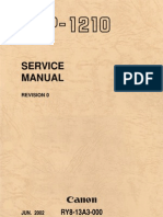 Canon LBP-1210 Service Manual