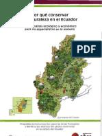 Por qué conservar la naturaleza en Ecuador