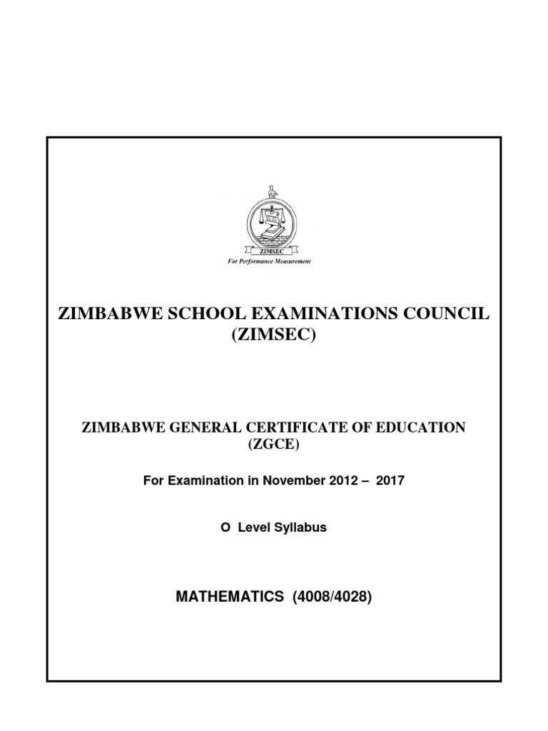 Zimsec O Level Geography Notes Pdf