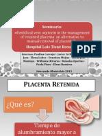 PPT Retención de placenta