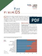 Gender Factsheet - HIV AIDS