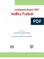 Human development Report Andhra Pradesh 2007 Full Report