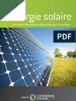 Comprendrechoisir Le Guide de l Energie Solaire