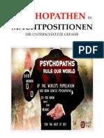 Knight-Jadczyk, Laura - Psychopathen in Machtpositionen. Die Unterschätzte Gefahr