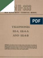 EE8 EE8a  - 1945 (TM 11-333)